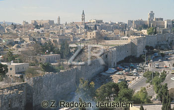 4470 Jerusalem city walls