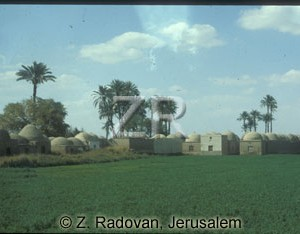4563-2 Egyptian village