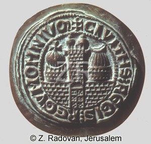 457 Crusader Jerusalem seal