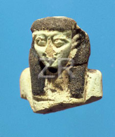 4710 Faience figurine