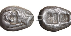 5293.-Lydian silver coin