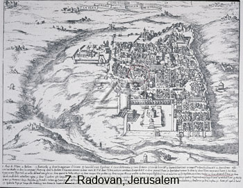 5310. Map of Jerusalem
