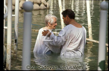 593-10 Baptizing in Jordan