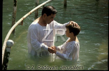 593-3 Baptizing in Jordan