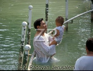593-8 Baptizing in Jordan