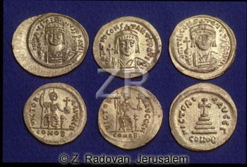 664-1 Byzantine coins