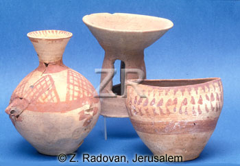 940-2 Chalcolithic pottery