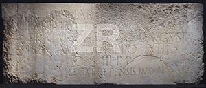 6137. Roman inscription, Jerusalem
