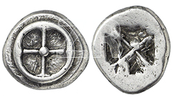 6317. Greek coin, Athens