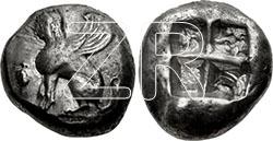 6500. Coin of Chios, Greece