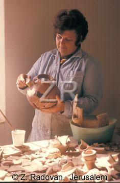 1944 Pottery restoration