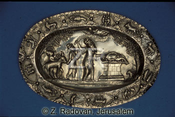 2509-1 Decorated tray