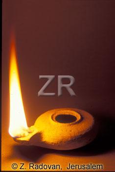 2641-2 Herodian oil lamp