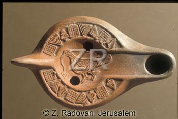 2643 Byzantine oil lamp