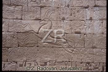 3537 Ramses III in battle