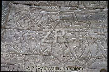 3553-1 Egyptian battle scen