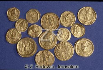 3743 Byzantine coins