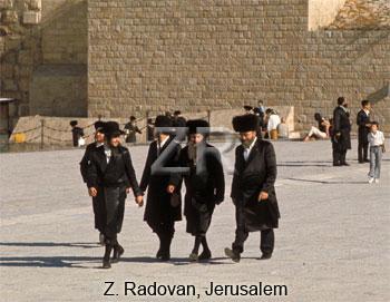 4449-6 Ultra orthodox Jews