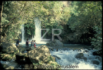 4677-2 Banias waterfall
