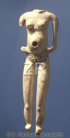 500-1 Chalcolithic figurine