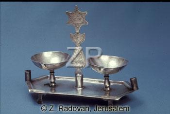 5131-4 Sabbath candlesticks