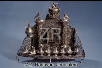 5147-2 Hanukkah lights
