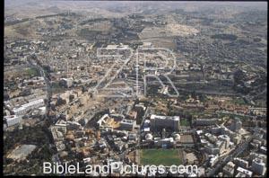 5618 Jerusalem aerial view