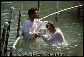 593-1 Baptizing in Jordan
