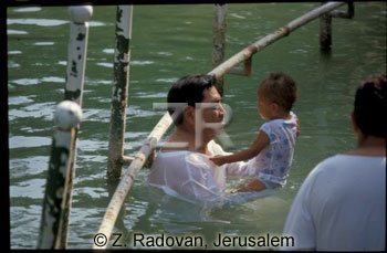 593-12 Baptizing in Jordan