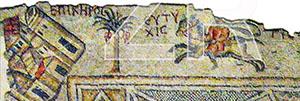6108-3- Kakikeria mosaic, Caesarea